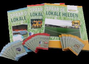 Voetbalplaatjesboek - spaar de lokale helden