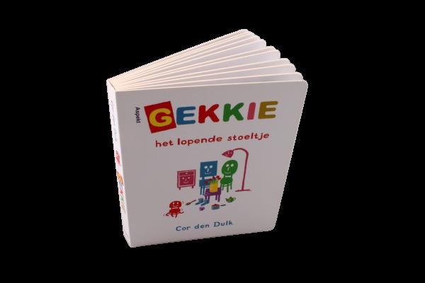 Kartonnen boekje Gekkie