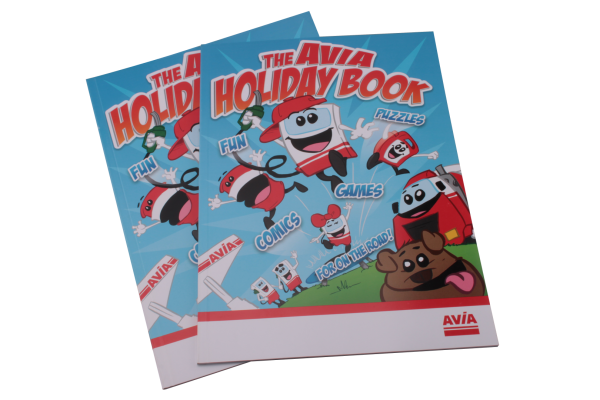 The Avia Holiday book